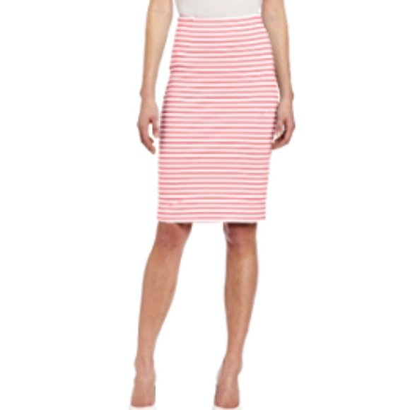 Lilly Pulitzer Deacon Skirt Lilly's Coral Stripe M